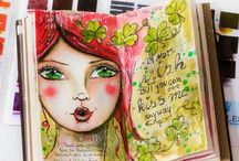 Art Journal Faces