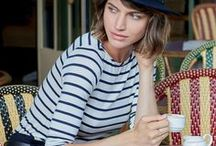 PRINT / STRIPES / Stripes on stripes. It started with the Breton shirt, originally worn by French sailors, is a classic loved by style icons such as Audrey Hepburn, Coco Chanel, and James Dean.