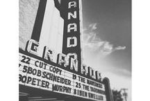 Granada Theater / The evolving Marquee.