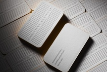 graphic design _ Cards and Business cards