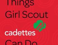 Girl Scout Cadettes