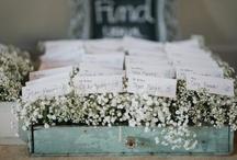 Wedding Table Plans & Escort Card Inspiration