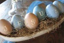 Celebrate Easter / Celebrating Jesus death and resurrection