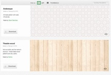 materials for architectural presentations