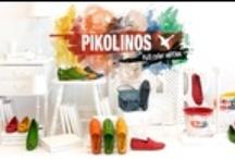 Pikolinos Colors / Nueva colección colors de Pikolinos. Zapatos 100% libres de cromo, respetuosos con el medio ambiente y llenos de color gracias a un proceso de tintado por inmersión de la forma más natural!