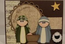 Celebrate Nativities / Oh if I could I would make a nativity anytime of the year. . . . so many lovely ones to choose from. Ideas here also for creative ways to use your nativity with children.