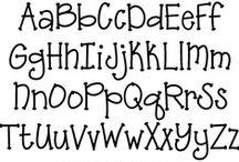 Paper Fonts