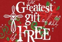 Celebrate Christmas Gift Giving / Christmas simple gifts to enter into the JOY of giving and their wrappings to enjoy