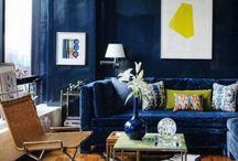 AT HOME/INDIGO / BLUE