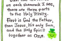 Celebrate St Patrick's Day / Will the real St. Patrick please stand up? Do you know the story behind the REAL St. Patrick? He was a man who loved JESUS and spent his life telling people about Him in Ireland. Look up his story! Read it here: http://www.thegospelcoalition.org/article/st.-patrick-reclaiming-the-great-missionary