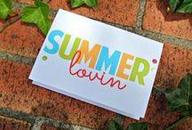 Cards: Summer / by Julia @ It's Always Ruetten