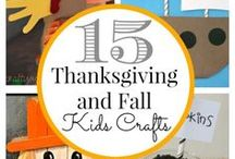 Thanksgiving Ideas / Fun things to do to keep the kiddos entertained during the holiday season when it's cold outside.