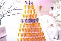 Sweet Shot Tower / 14 tier sweet pyramid tower to display shot glasses with sweets or chocolate ie ferrero rocher