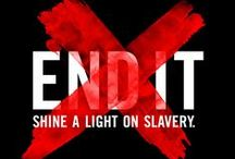 For The Cause / Help support the cause to end human slavery and sex trafficking.
