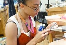Jewelry making classes, schools, camps, retreats / collection of places where jewelry makers can do courses and expand their knowledge