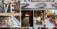 Industrial Chic Inspiration / If you love vintage or rustic chic have you thought about an industrial chic look for your wedding?  Perfect for a couple who want vintage inspired décor but with a modern twist.  From airy former factories to exposed lightbulbs and antique chairs, we love this theme.  Here are some of our favourite ideas!