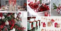 Christmas Decor - Traditional / We love these ideas for a traditional Christmas decor theme