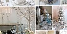A Silver Themed Christmas / Some of our favourite decor ideas for a Silver themed Christmas