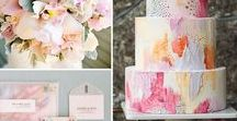 Watercolour Wedding / Watercolour details are one of our favourite trends, from soft-washed cakes to dipped invitations, the soft tones and gorgeous hues are so entrancing and add a pretty and whimsical touch to your big day.  Here are some of our favourite watercolour ideas, which is yours?