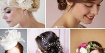 Wedding Hair Accessories / Many modern brides today have ditched the tradition of a veil and opted for wearing another type of head dress instead.  From flower crowns to jewelled hair vines, there are many veil alternatives that will have you feeling like 'A Bride' on your special day.  Here are some of our favourite alternatives to the veil - which is your favourite?
