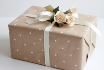 Brown Paper Packages Tied Up in String / by Valery