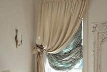 Window treatment  / All different kinds hope you enjoy! / by Kathy Sawyer