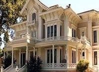 Victorian Houses / A beautiful Victorian home with a wrap-around veranda...heaven. :) Who wouldn't love to live in one..