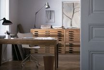 home office ~ / a space to work and be inspired to work. home studios, offices and creative places