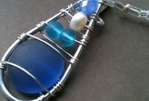 Beach Glass Jewelry / All I can say is, I love this jewelry. :)