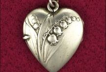 Silver Jewelry / Anything silver...I just love. :)