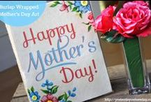 Mother's Day Ideas! / Lots of crafty DIYs for Mother's Day: cards, gifts, printables, recipes and more! / by Pet Scribbles