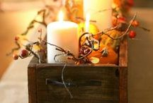 Halloween & Thanksgiving. Fall ideas / by Stacy Pitino