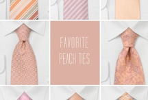 Wedding Ties - Stylish Outfits for Groom & His Dudes / Get inspired to dress groom and groomsmen. From suit colors and patters, tips on how to compliment the bridesmaids' dress colors, different types of neckwear, accessories, and more... / by Bows-N-Ties | Inspiration for Men's Ties, Bow Ties, & Neckties