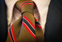 Striped Ties & Neckties / Our favorite collection of striped neckties and bow ties. See new striped tie collections, get tips on how to wear a striped tie, and more. / by Bows-N-Ties | Inspiration for Men's Ties, Bow Ties, & Neckties