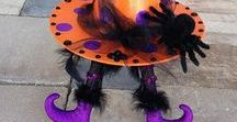 Happy Halloween Ideas! / Crafts --- Recipes --- DIYs -- Costume ideas --- Decorations -- Party ideas --- Decor ---  ***Also see my separate Pumpkin DIYs Pinterest board!