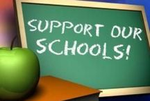 School Spirit!!! / PTA ideas, teacher appreciation, and more ways to help support your school! / by Jewell Simpson