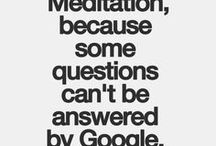 Meditation / Information and tips for meditation, relaxation, restoring calm and serenity
