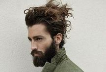 beauty of beards, top knots and man buns ~ / moustache maintenance, topped with a bun and all things beardy