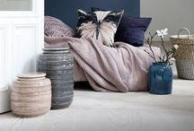 pink interiors & decor ideas ~ / dusty, dusky, powder, rose and blush hues, softer interior tones to style yourself happy.