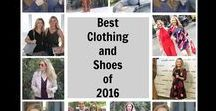 Best Clothing 2016 / These are my top clothing (and shoe) picks from my closet from 2016.  I have a pretty good feeling you'll still see these worn all throughout 2017 as well!