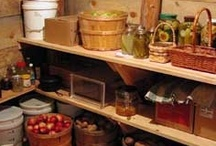 for the home - cold cellar & pantry / by Gil