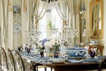 Blue and White/ Chinoiserie