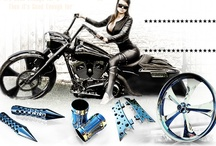 Motorcycle Stuff / by Michele Becvar Fleming