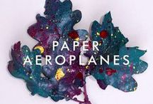 Artwork and Posters / Paper Aeroplanes. All things music, touring, press...
