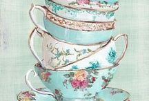 Tea cup love / Everything tea cups and saucers. Delicate, elegant, pretty and ooh so divine.