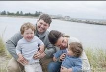 Family Beach Portraits / Maine, New Hampshire and Nantucket Beach Portraits.