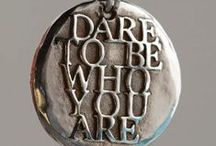 Be Daring / Inspiration - One Little Word 2014.