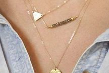 tiny necklaces / by Barbara Burril