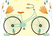 Il·lustració ciclista