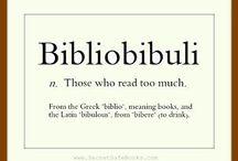 Book worm / Books, books, books
